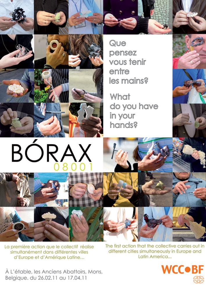 Flyer Exposition Bórax08001 @ Mons