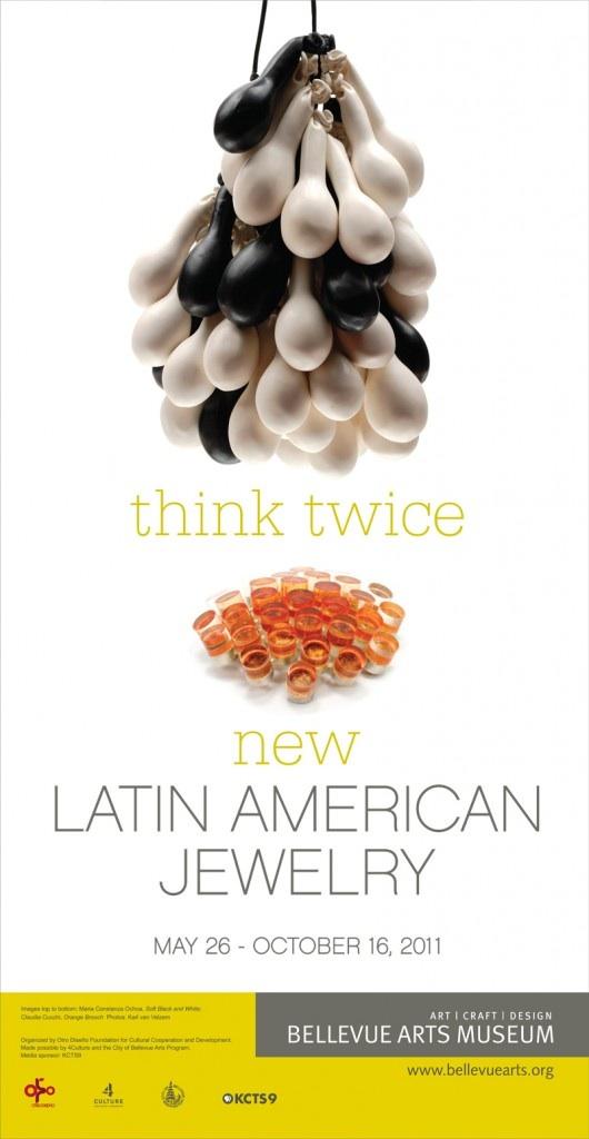 Think Twice: New Latin American Jewelry en el Museo de Artes de Bellevue