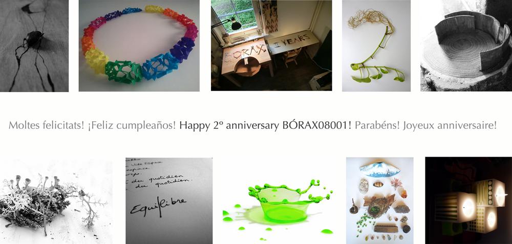 2º aniversario de la fundación del colectivo Bórax08001
